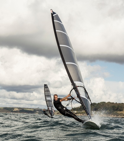 The fastest most adjustable Raceboard sail on the planet.